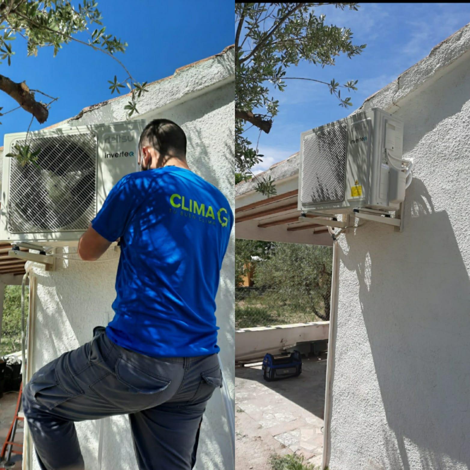 Climagadea instalacion de aires acondicionados en Alicante 2