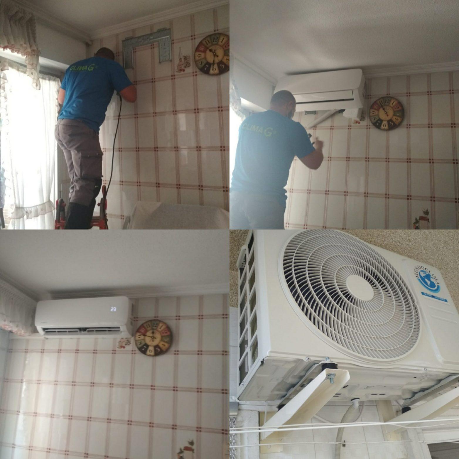 Climagadea instalacion de aires acondicionados en Alicante 3