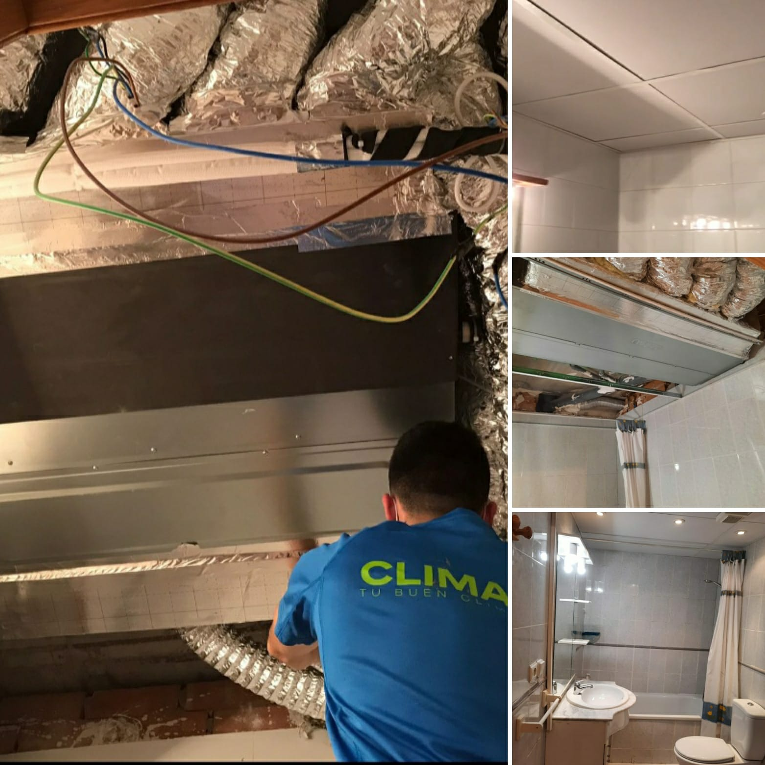 Climagadea instalacion de aires acondicionados en Alicante 4
