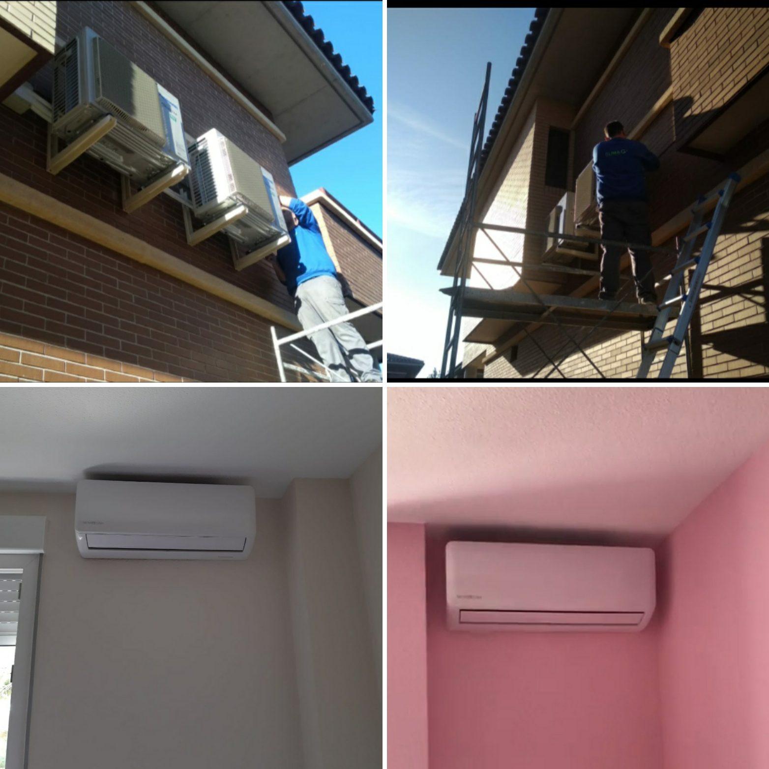 Climagadea instalacion de aires acondicionados en Alicante 5