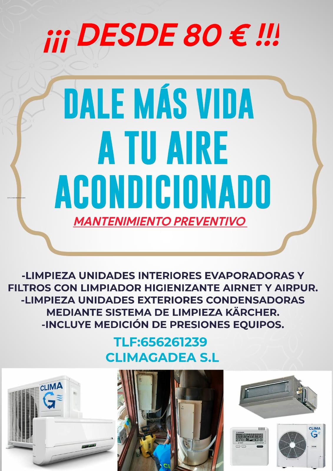 Climagadea instalacion de aires acondicionados en Alicante 6