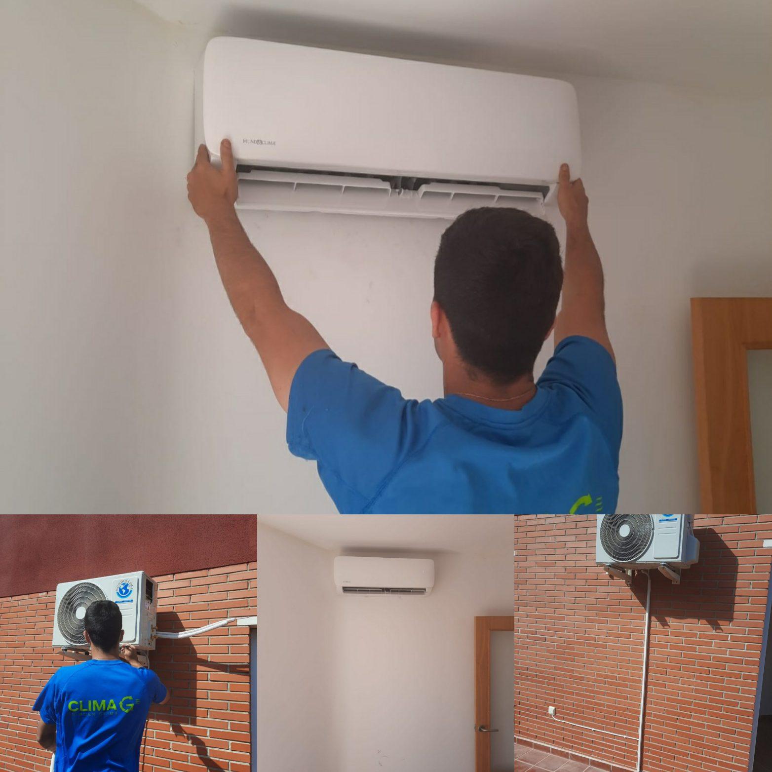 Climagadea instalacion de aires acondicionados en Alicante